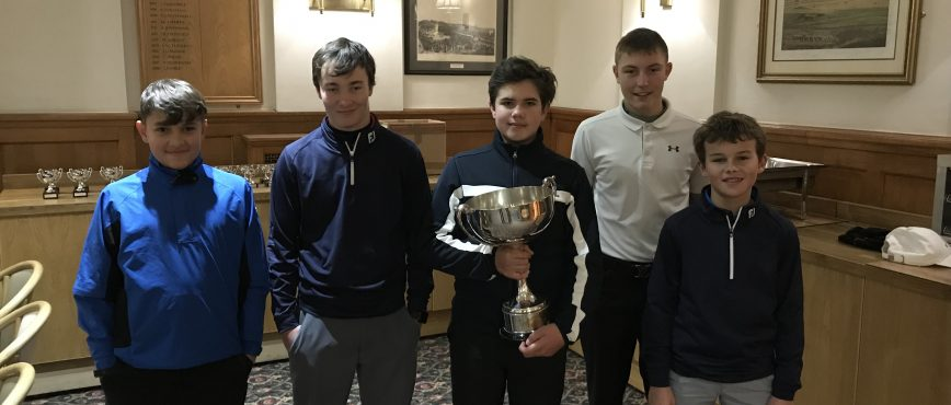 Horne Park Juniors Win The Fairways Trophy!